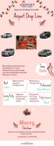 Christmas parties limo service infographic